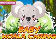 Игра Забота о малыше коалы