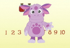 игра лунтик математика для малышей играть