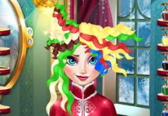 Игры Новогодние Прически Эльзы