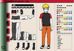 Игра мейкер персонажей Наруто
