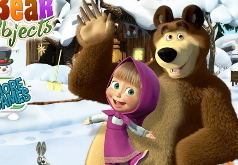 Игры Маша и медведь поиск предметов
