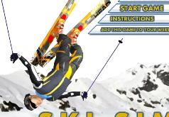 Игры трюки на лыжах