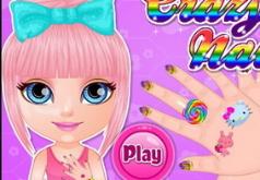 Игры Крошка Барби сумасшедшие ногти