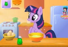 Игры Мой маленький пони Твайлайт готовит торт