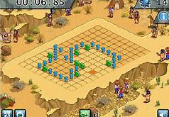 Игра Сапер флеш ковбои и индейцы