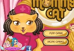 игры мама кошка и котята