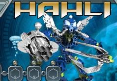 игры бионикл фабрика героев атака мозгов