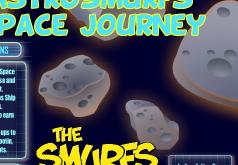 Игра Смурфики Космический полет