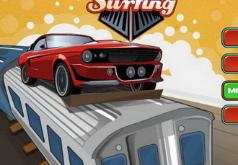 Игры Гонки по крышам вагонов