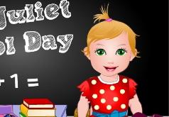 Игры Малышка Джульетта в школе