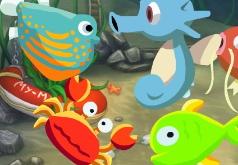 игры рыбы цепь питания