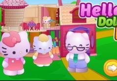 Игры Собрать кукольный домик Хелло Китти