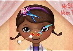 Игра «Доктор Плюшева лечит нос»