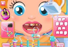 Игры Маленькая Лизи лечит зубы