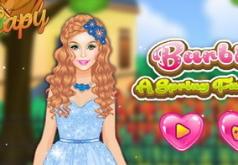 Игры Барби Весенняя сказка