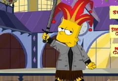 Игры Барт Симпсон на Хэллоуин