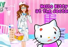 Игра Хелло Китти в Больнице