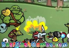 игры рыцари осада орков