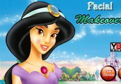 Игра Принцесса Жасмин Макияж для лица