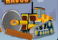 древопилки тракторы флеш игра