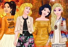 Игры Осенняя вечеринка принцесс