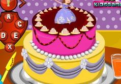 Игра София Прекрасная готовит торт
