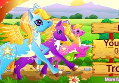 игры гонки пони забег
