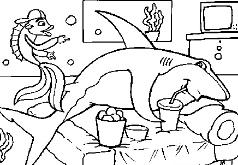 Игры Акула Отдыхает
