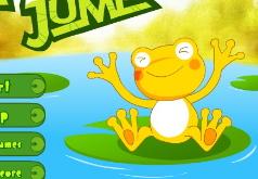 игра лягушка прыгает по кувшинкам