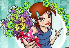 Игры Счастливая цветочница