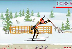 Игры лыжи биатлон