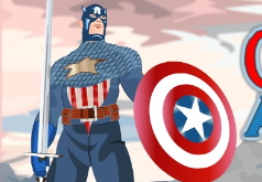 Игра Капитан Америка собирается на свидание