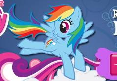 игры про пони рейнбоу дэш летать
