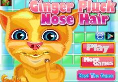 Игра Вырывание волос из носа Джинджеру