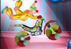 игры цирковой мотоцикл