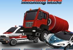 Игра Удивительные гонки 911