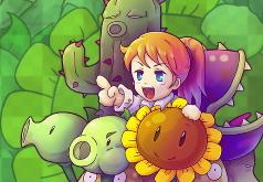 игры летающие растения против зомби