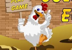 Игры курица собирает яйца