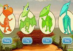 Поезд динозавров Играем и развиваемся