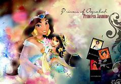 Игры Жасмин Пазл Принцесса Аграбы