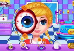 игра лечить глаза