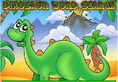 Игра Игра Динозавр ищет слова
