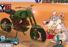 Игры Крыса на велосипеде