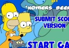 Игры Симпсоны в доме пива