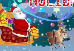 Игра Обычный мультик Рождественские праздники