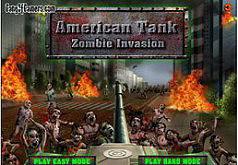 Игры Американский танк Вторжение зомби