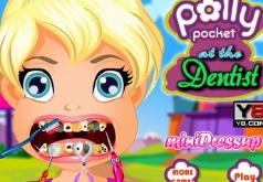 Игра Полли Покет у стоматолога