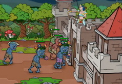 Игры Отстоять замок