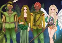 Игры одевалки феи русалки ангелы эльфы