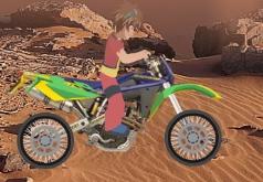 Игры Бакуган на мотоцикле